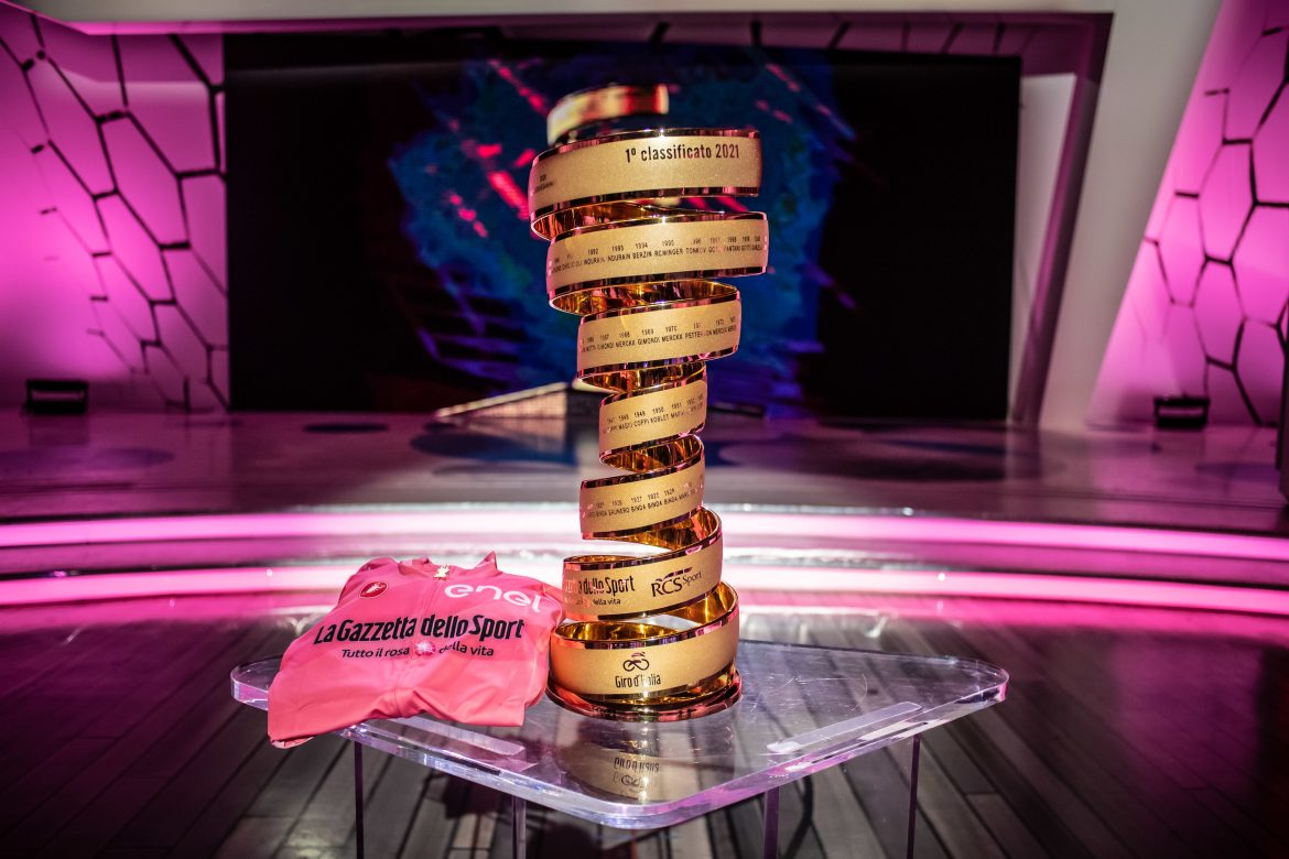 The route of the 104th Giro d'Italia is officially unveiled