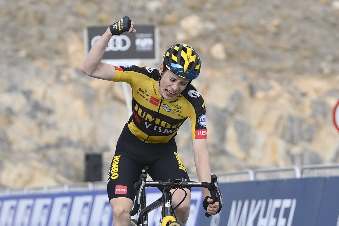 Jonas Vingegaard wins Stage 5, the Impossible Is Possible Stage, of the UAE Tour Tadej Pogačar retains the Red Jersey