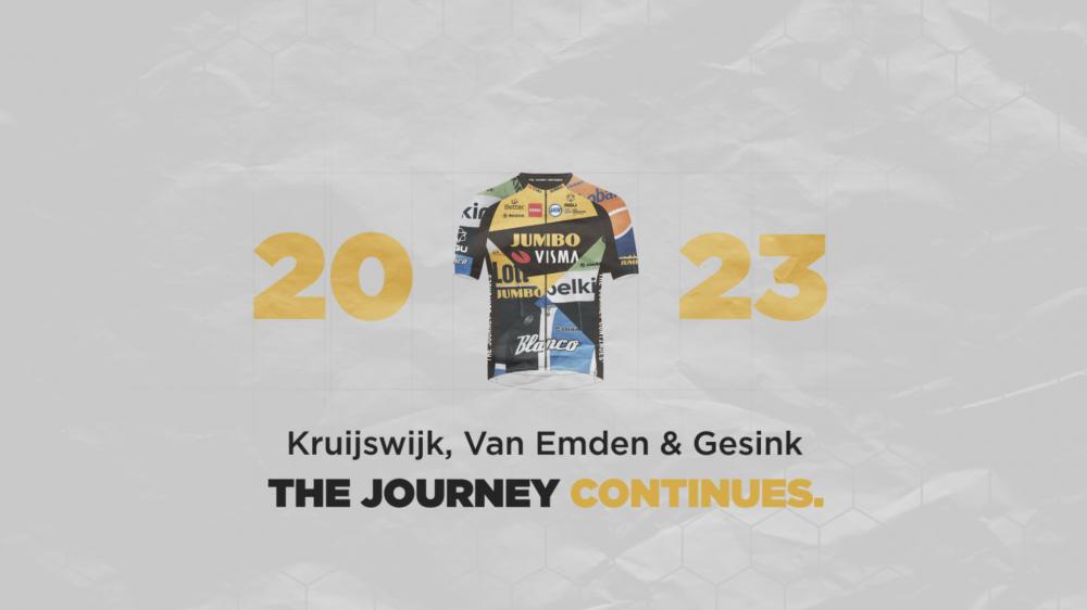 Kruijswijk, Gesink and Van Emden two more years at Team Jumbo-Visma