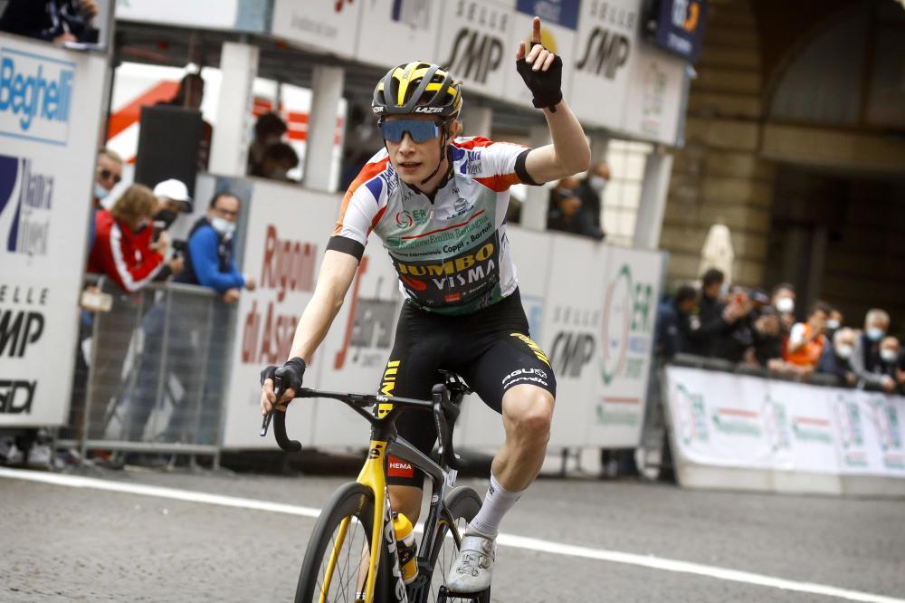 Vingegaard secures overall victory in Settimana Ciclistica Coppi e Bartali in style