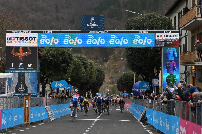 Mathieu van der Poel wins Stage 3 of the Tirreno-Adriatico