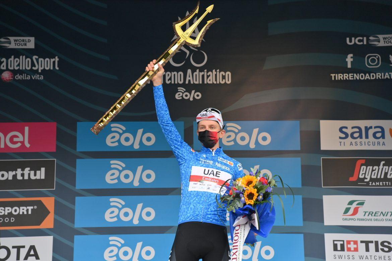 Tadej Pogačar wins the 56th Tirreno-Adriatico Wout van Aert wins the final ITT in San Benedetto del Tronto
