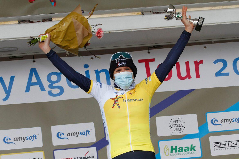 Ellen van Dijk wins the 2021 Healthy Ageing Tour