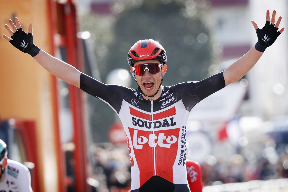 Young Andreas Kron first leader in Tour of Catalunya