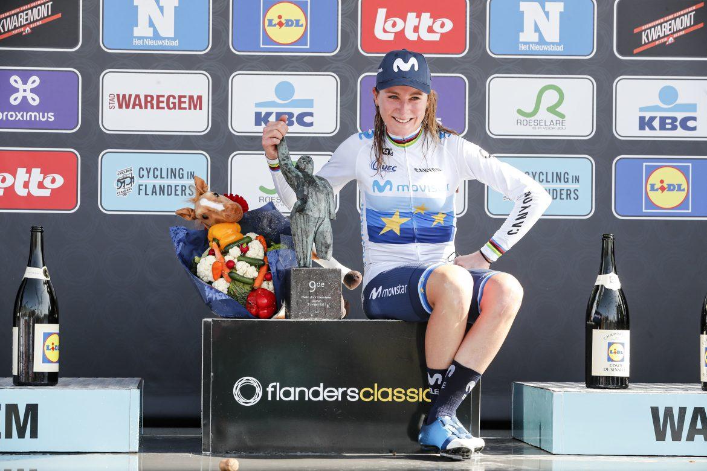 Annemiek van Vleuten wins Dwars door Vlaanderen