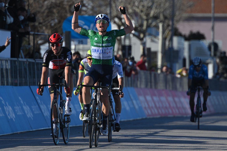 Mads Würtz Schmidt wins Stage 6 of the Tirreno-Adriatico