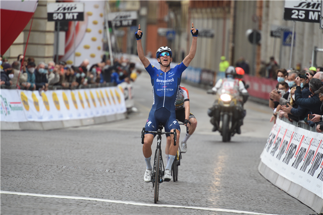 Mikkel Honoré clocks up first pro victory in Italy