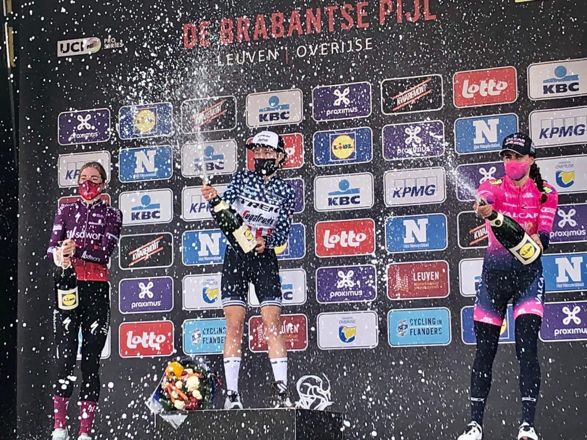 Ruth Winder wins Brabantse Pijl