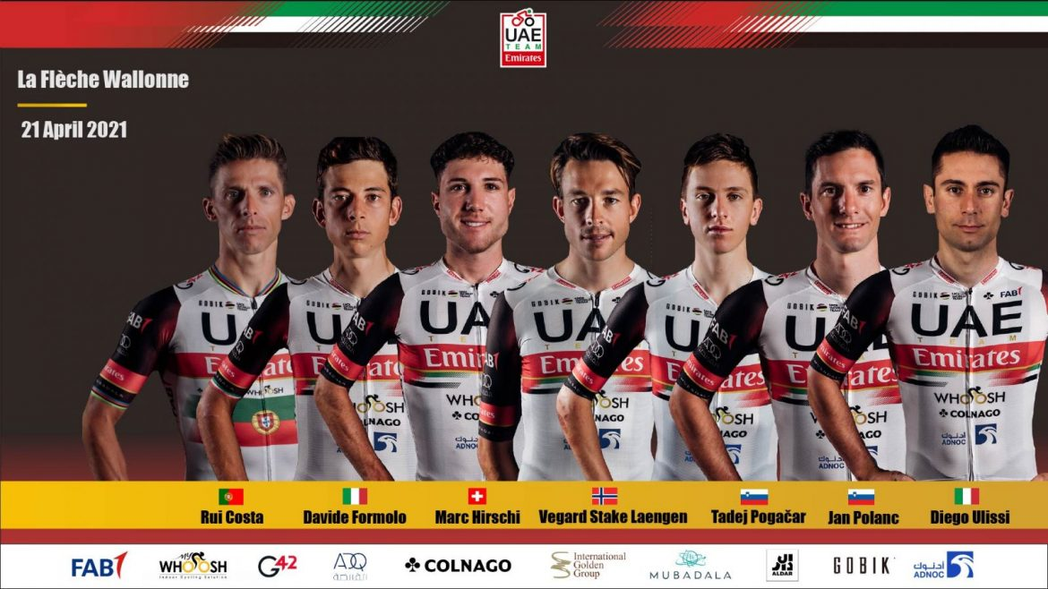 UAE Team Emirates out of Flèche Wallone