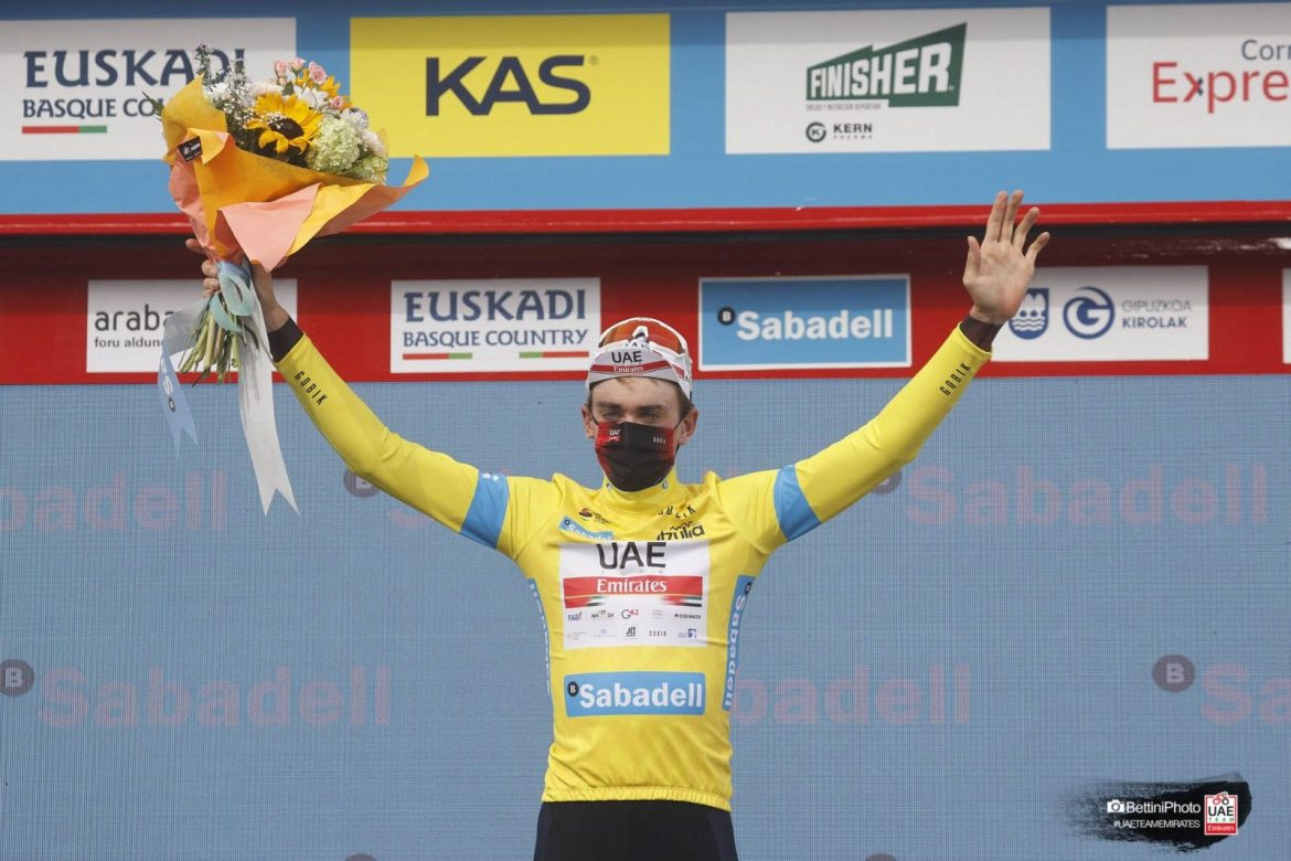 McNulty new leader in the Basque Country