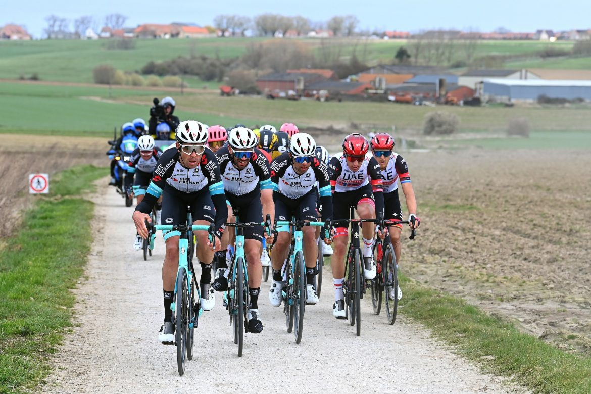Matthews hungry to take the win for Team BikeExchange atBrabantse Pijl after previous close calls