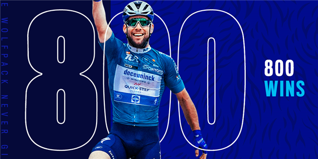 Deceuninck – Quick-Step celebrates its 800th victory