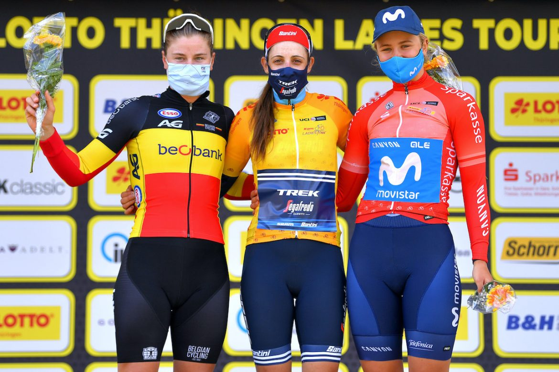 Lucinda Brand wins the Lotto Thüringen Ladies Tour