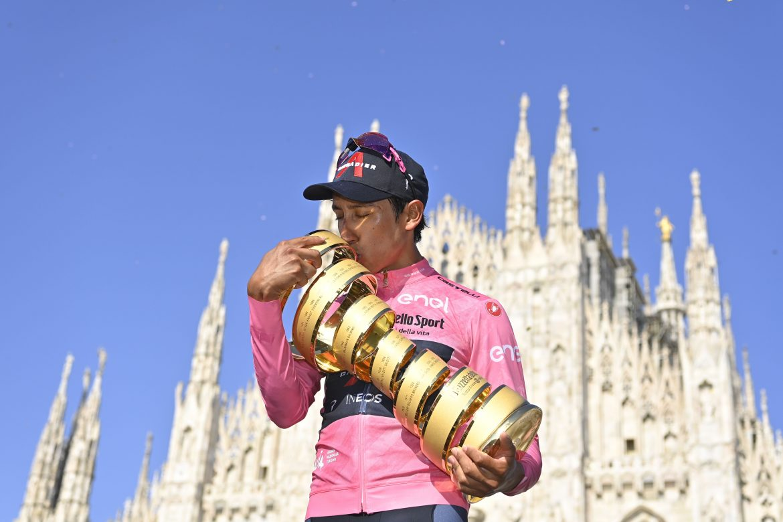 Egan Bernal wins the 104th Giro d'Italia, Filippo Ganna wins Stage 21
