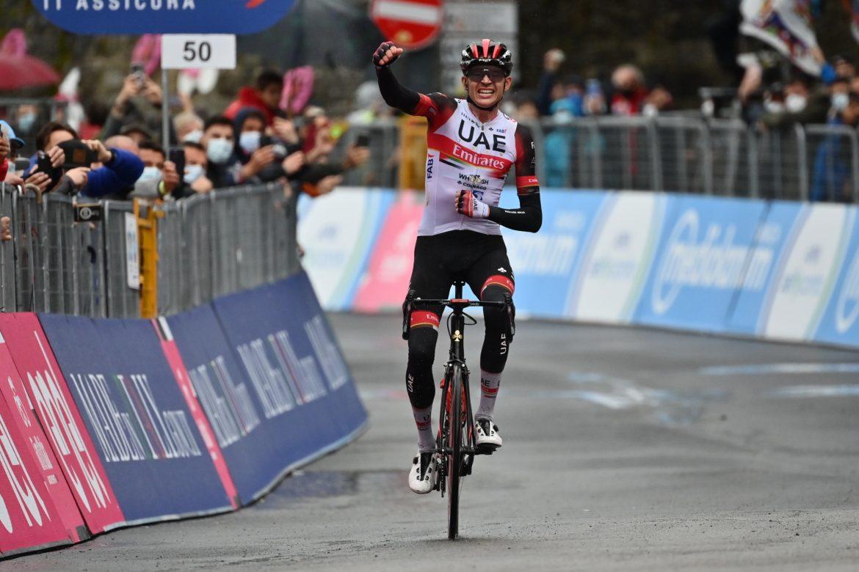 Joe Dombrowski wins Stage 4 of the Giro d'Italia