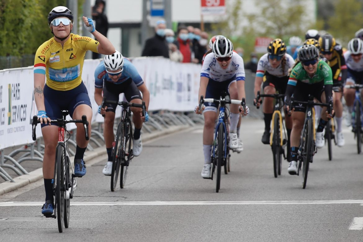 Norsgaard, Movistar Team dominate at Elsy Jacobs