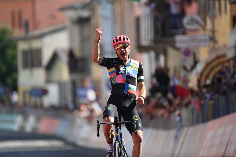 Alberto Bettiol wins stage 18 of the Giro d'Italia, Egan Bernal retains the Maglia Rosa