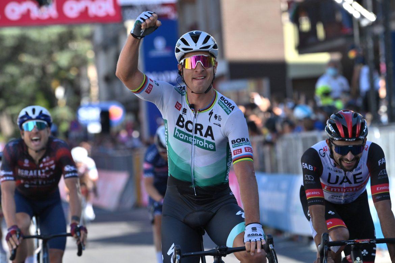 Peter Sagan wins stage 10 of the Giro d'Italia, Egan Bernal retains the Maglia Rosa