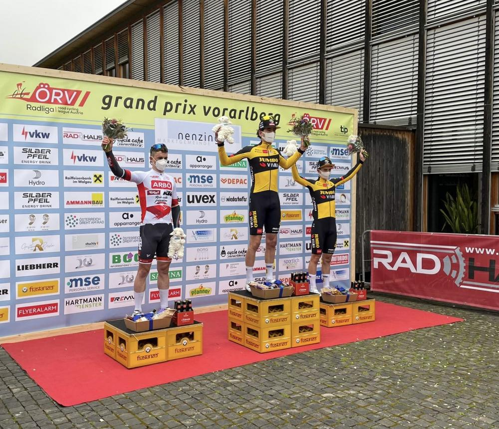 Mick van Dijke solos to victory in GP Vorarlberg
