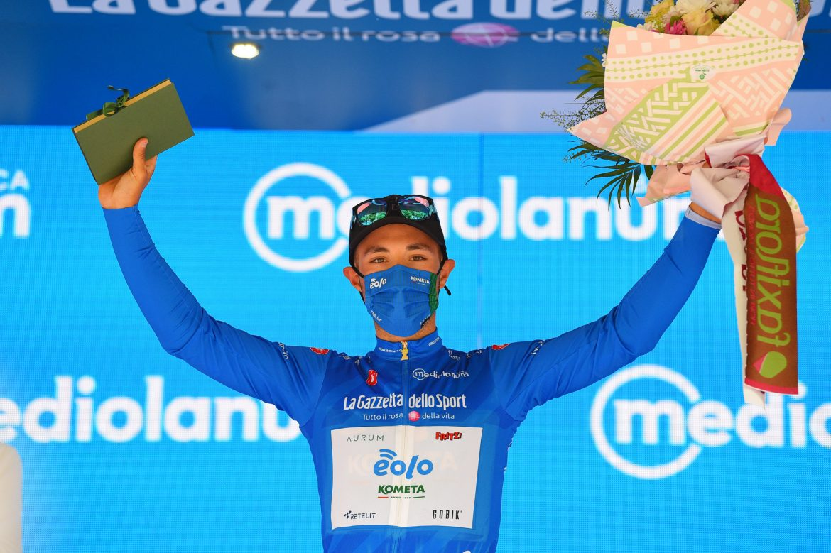 Albanese is the Giro d´Italia blue jersey