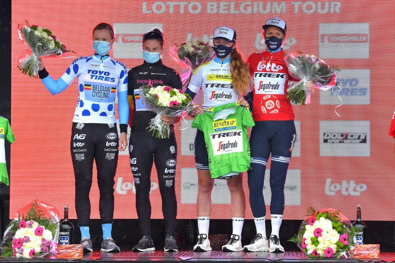 Ellen van Dijk wins Lotto Belgium Tour prologue