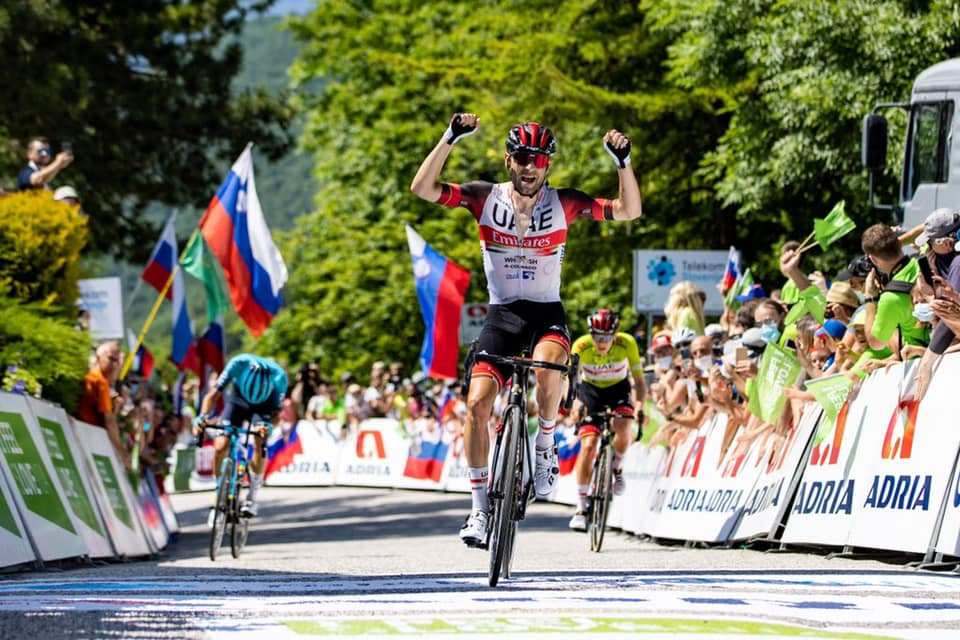 Ulissi takes emotional victory in Slovenia
