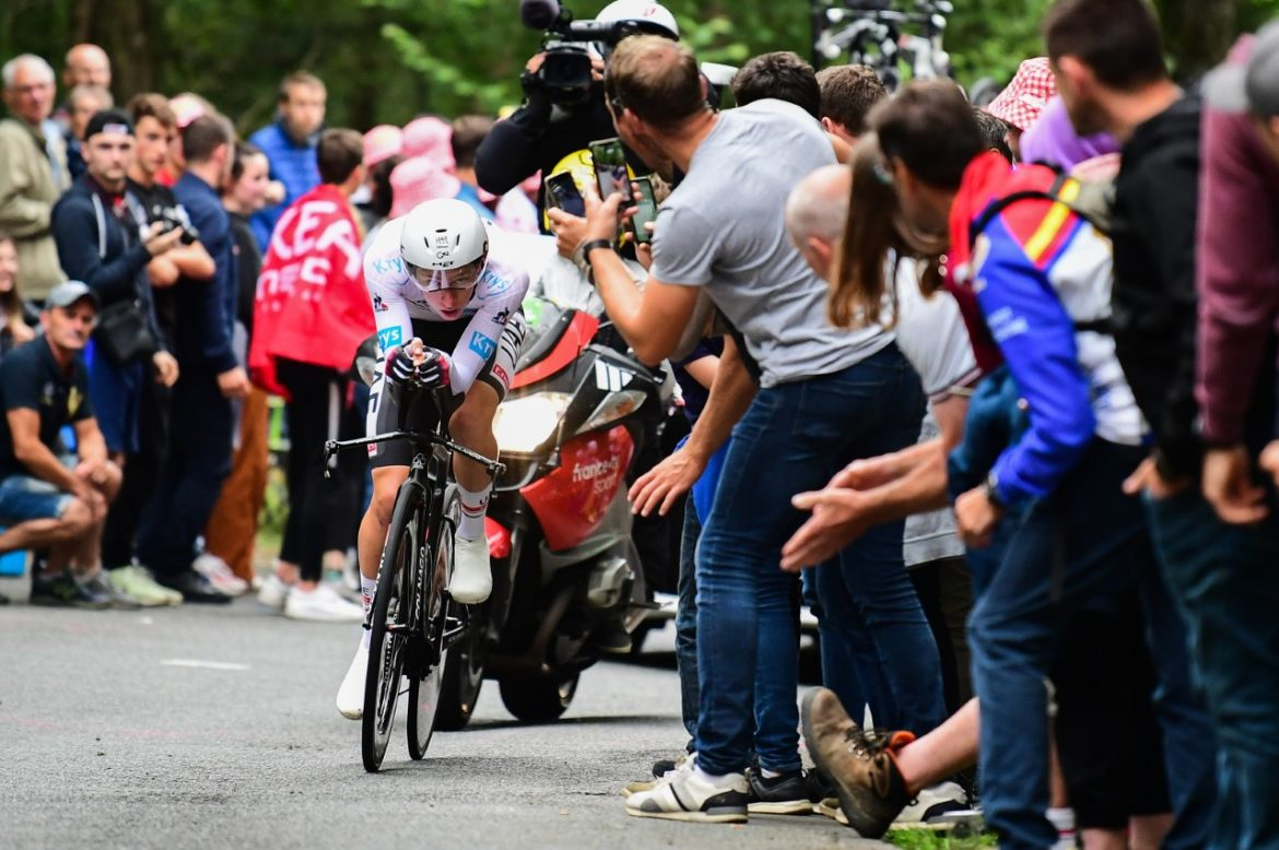 Pogačar storms home for Tour de France stage victory