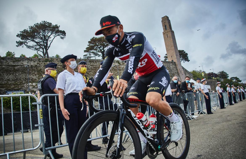 Caleb Ewan confident ahead of the start of the Tour