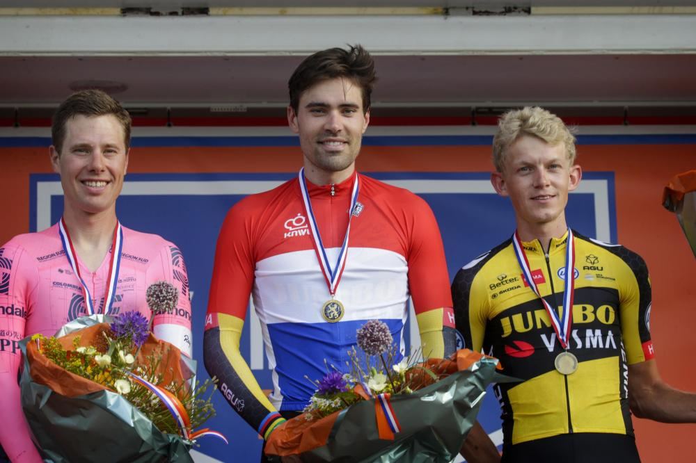 Dumoulin rushes to fourth Dutch time trial title