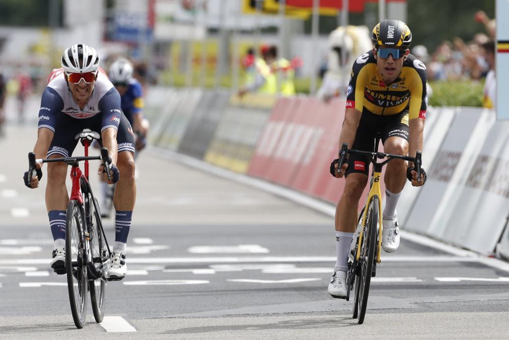 Van Aert wins Belgian road championship
