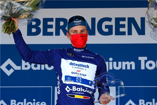 Remco Evenepoel wins the Belgium Tour