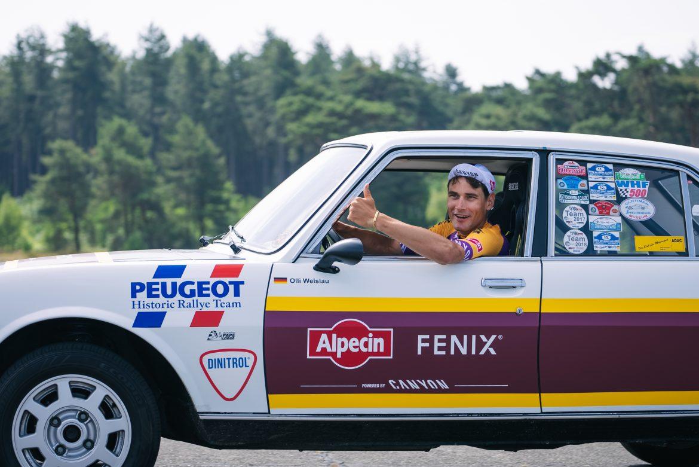 Alpecin-Fenix and Mathieu van der Poel pay tribute to Raymond Poulidor