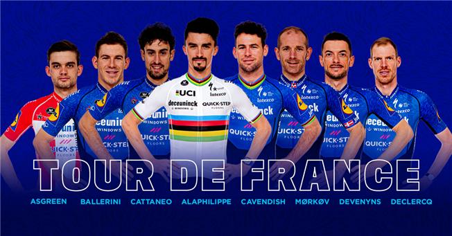 Deceuninck – Quick-Step to the Tour de France