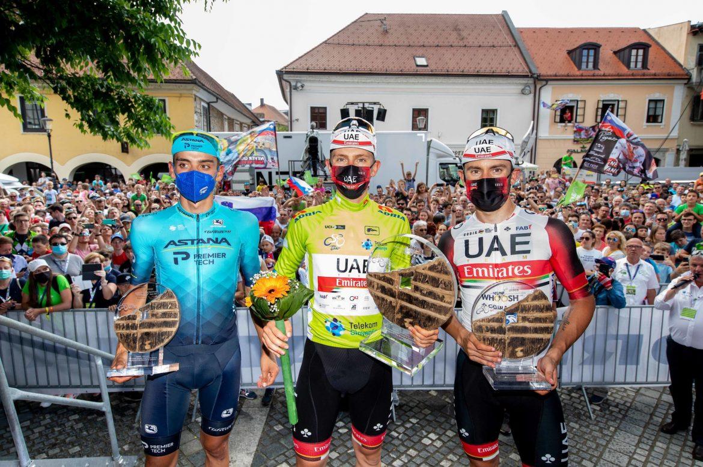 Pogačar takes home victory in Slovenia