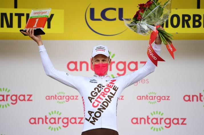 Michaël Schär takes most aggressive rider prize
