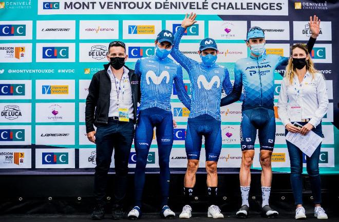 Miguel Angel Lopez wins Mont Ventoux Dénivelé Challenges