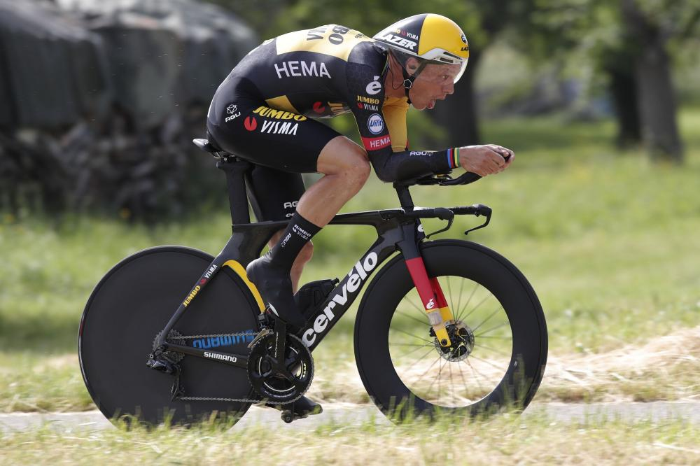 Martin clinches tenth German time trial title