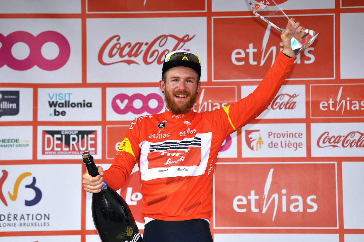 Quinn Simmons secures overall victory in the Tour de Wallonie
