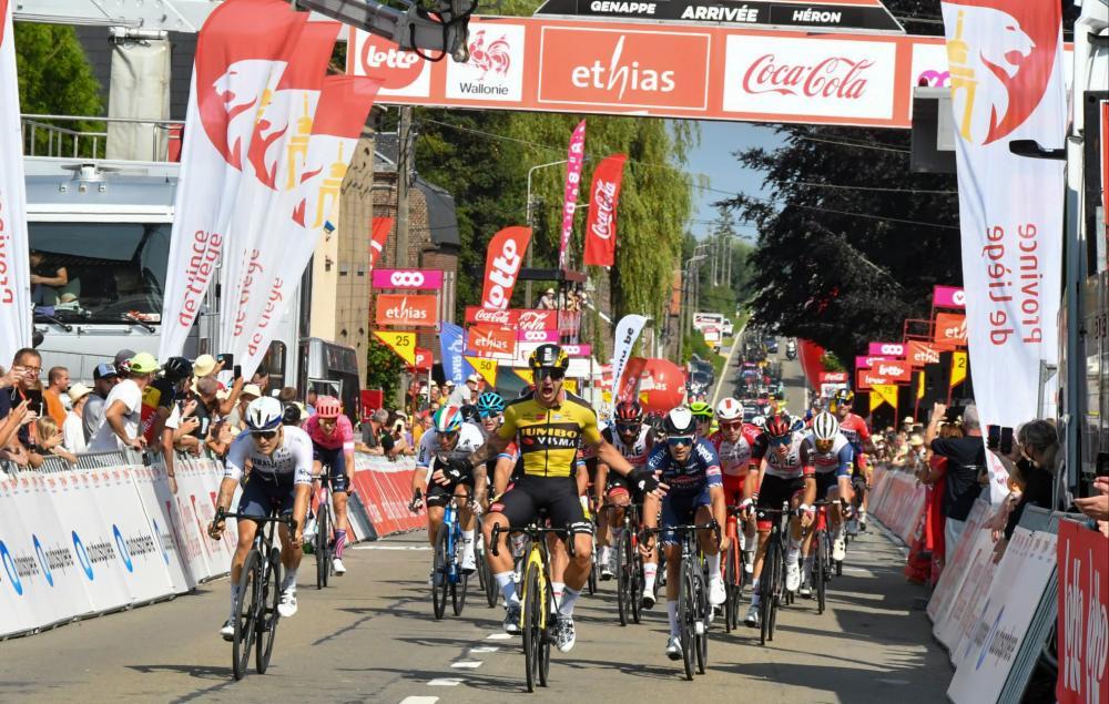 Convincing win for Groenewegen in opening stage Tour de Wallonie