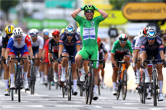 Cavendish crowned king of Châteauroux