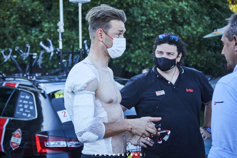 Roger Kluge forced to abandon Tour de France after crash on stage 13 descent