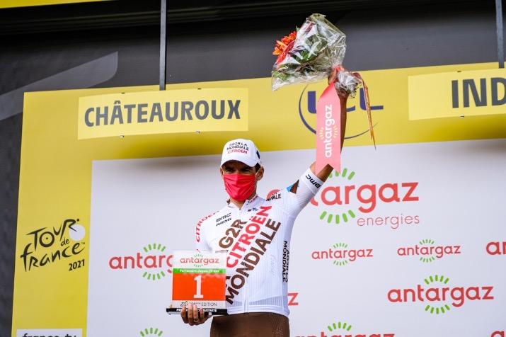 Greg Van Avermaet takes most aggressive rider prize