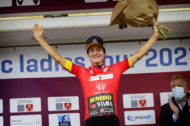 Vos sprints to impressive second win in Simac Ladies Tour