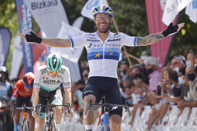 Giacomo Nizzolo powers to victory at Circuito Gexto for Team Qhubeka NextHash