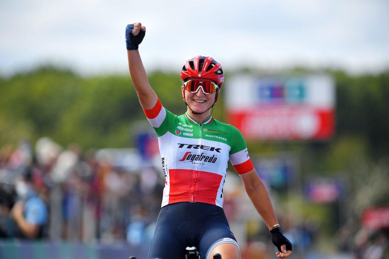 Longo Borghini wins in Plouay