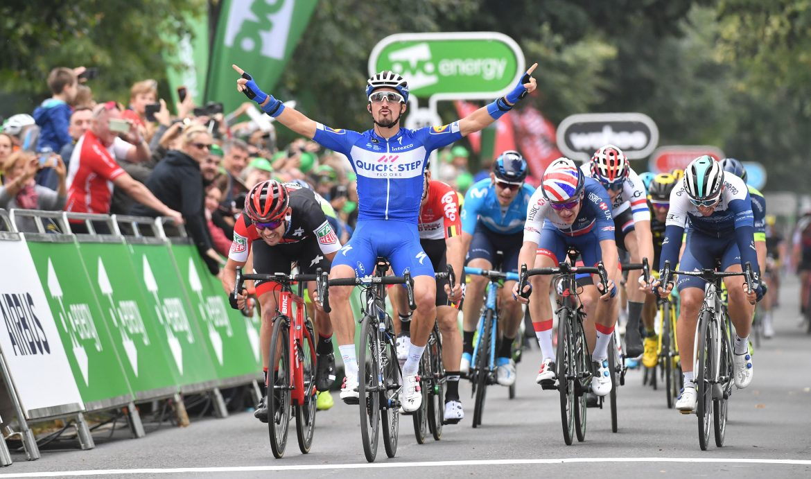 World Champion Julian Alaphilippe returning to the Tour of Britain