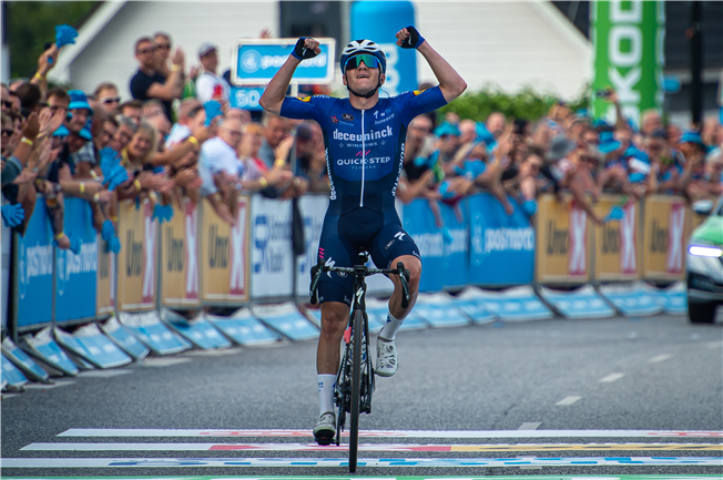 Evenepoel produces another stunning display