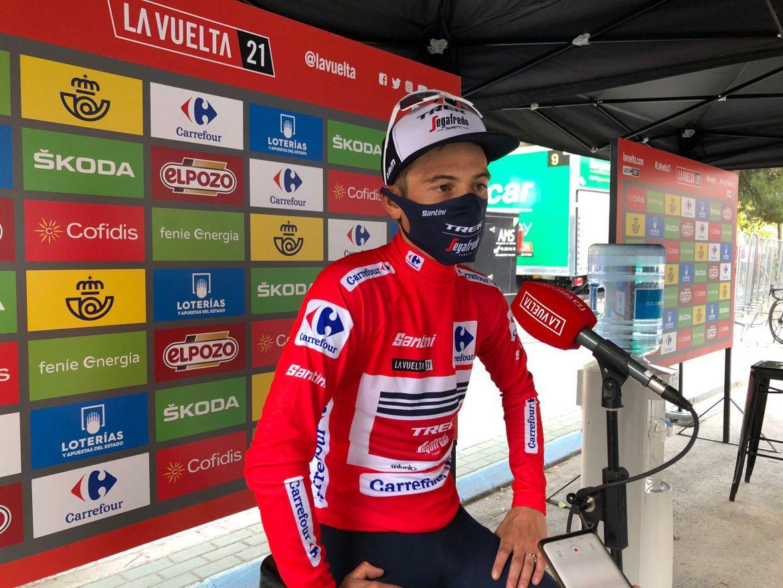 Kenny Elissonde is the new leader of La Vuelta