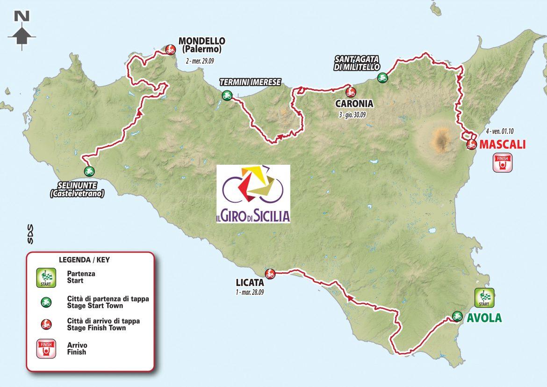 Il Giro di Sicilia returns: the island welcomes its race home