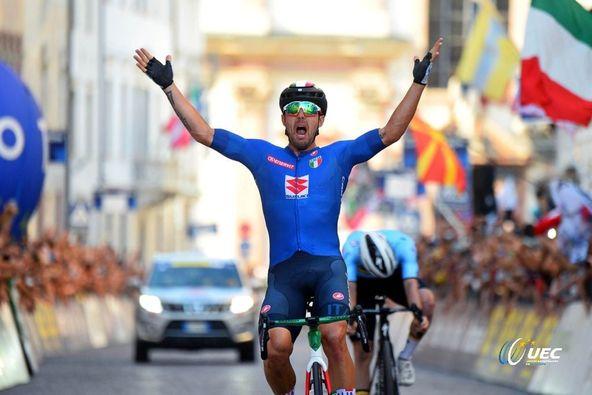 Sonny Colbrelli is the new European Champion